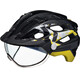 KED Covis Helmet Black Yellow